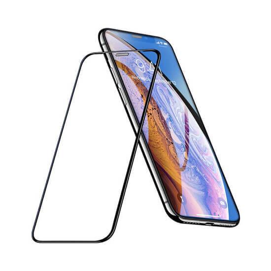 ეკრანის დამცავი HOCO iPhone XS Max / 11 Pro Max Full screen silk screen HD Tempered Glass