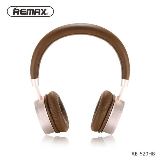 Remax Wearing Bluetooth Headset RB-520HB Gold