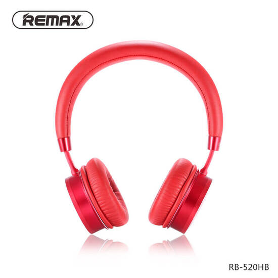Remax Wearing Bluetooth Headset RB-520HB Red