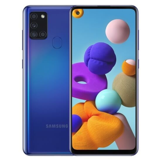 Samsung A217F Galaxy A21s (3GB/32GB) LTE Duos - Blue