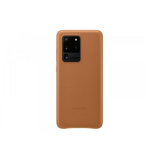 Samsung Galaxy S20 Ultra Leather Cover Brown (EF-VG988LAEGRU)