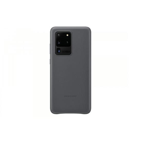 Samsung Leather Clip Case S20 Grey (EF-VG988LJEGRU)