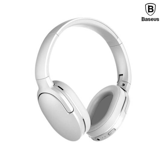 Baseus Encok Wireless headphone D02 White