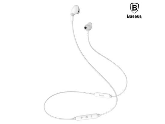 Baseus Encok Magnet Wireless Earphone S04 Grey white