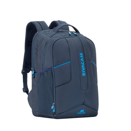 """ნოუთბუქის ჩანთა RIVACASE 7861 17.3"""" Laptop Gaming Backpack blue"""