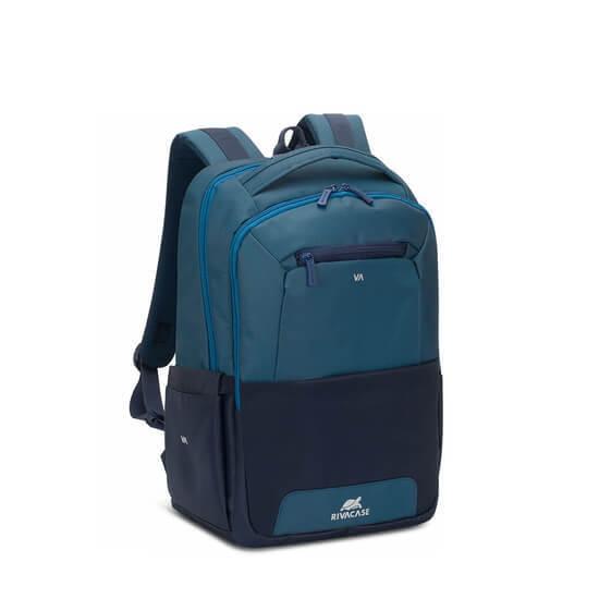 """ნოუთბუქის ჩანთა RIVACASE 7767 15.6"""" Laptop Backpack blue/aquamarine"""