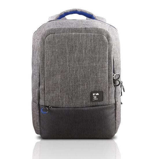 """ნოუთბუქის ჩანთა Lenovo 15.6"""" Backpack by NAVA - Grey (GX40M52033)"""