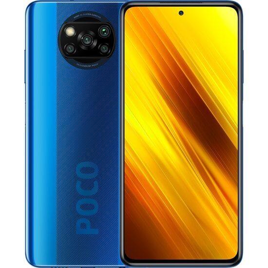 Xiaomi POCO X3 Global version (6GB/128GB) Dual Sim LTE Blue