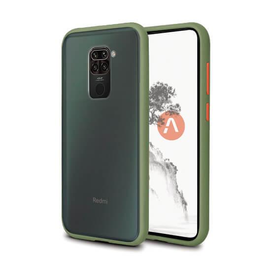 AKAMI Kasumi case for Xiaomi Redmi Note 9 - Green