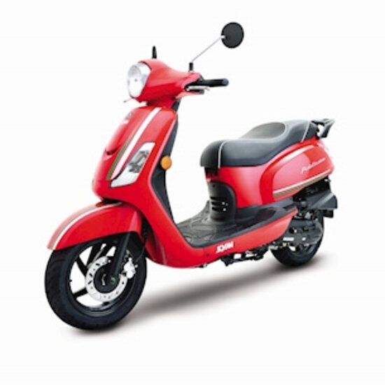 SYM Fiddle III 50 cc red
