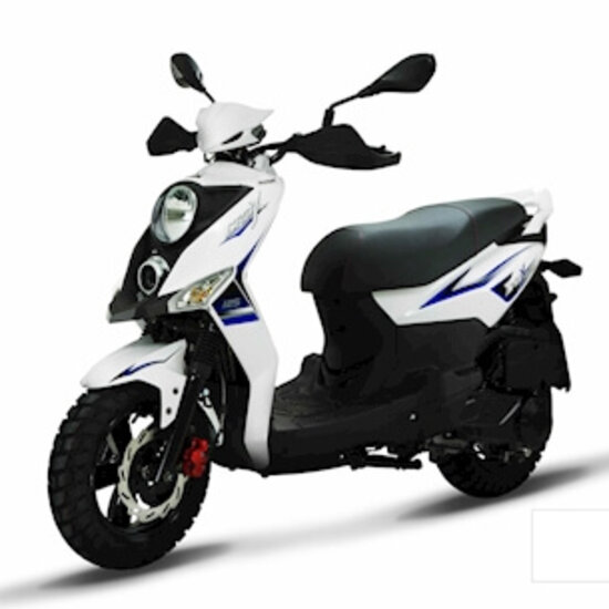 SYM Crox 50 cc white