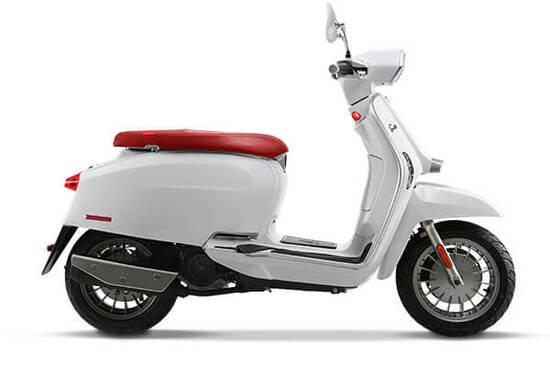 Lambretta V Special 125 cc White
