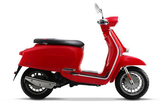 Lambretta V Special 125 cc Red