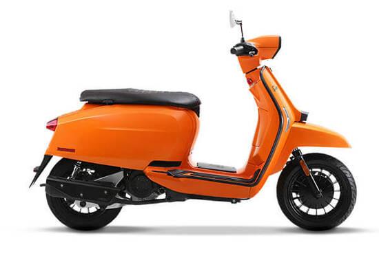 Lambretta V Special 125 cc Orange