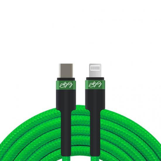 USB კაბელი ტენე – Type c to lightning