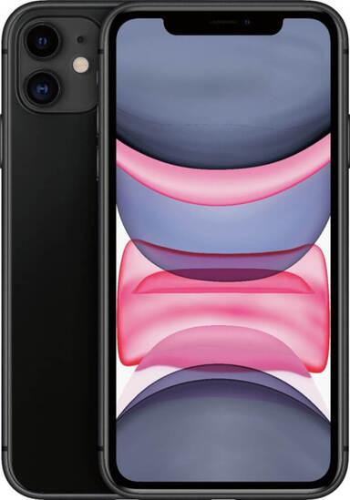 Apple iPhone 11 64GB Black (A2221-ZKMHDA3RM/A)