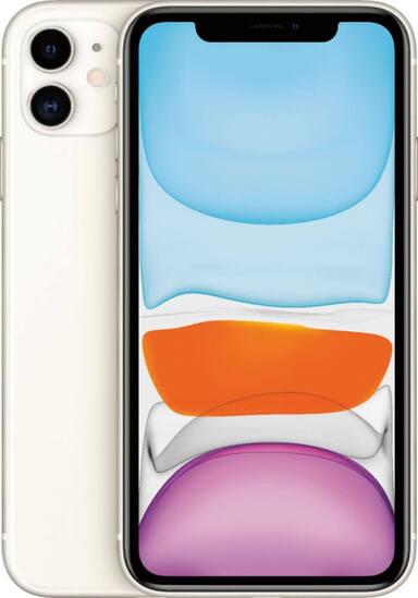 Apple iPhone 11 64GB White (A2221-ZKMHDC3FSA)