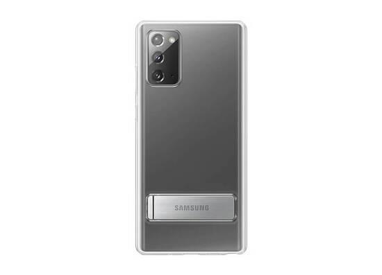 Samsung Clear Standing Cover Note 20 Transparent (EF-JN980CTEGRU)