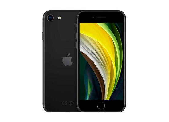Apple iPhone SE (2020) 128GB - Black (Model A2296 - ZKMHGT3RMA)