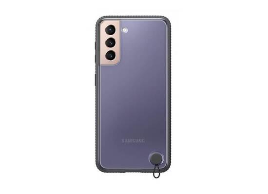 Samsung Galaxy S21 Clear Protective Cover Black (EF-GG991CBEGRU)