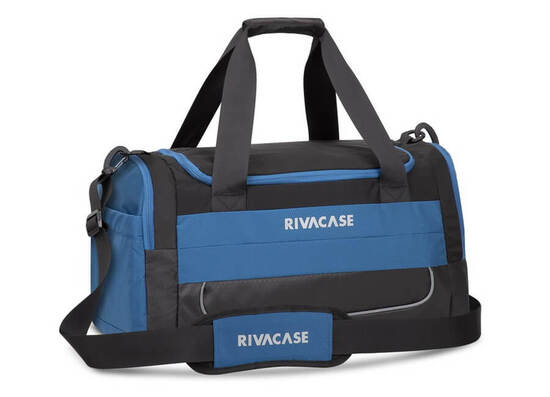 RIVACASE 5235 15.6'' Duffle Bag - Black/Blue
