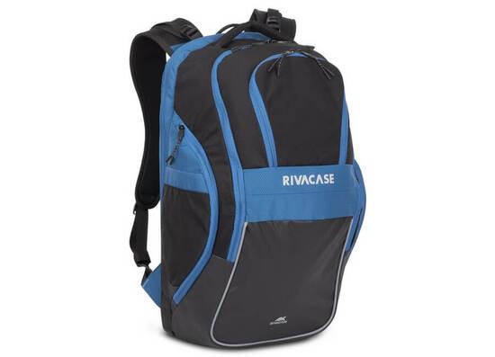 RIVACASE 5265 17.3'' Backpack - Black/Blue