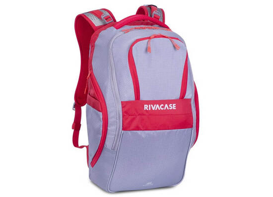 RIVACASE 5265 17.3'' Backpack - Grey/Red
