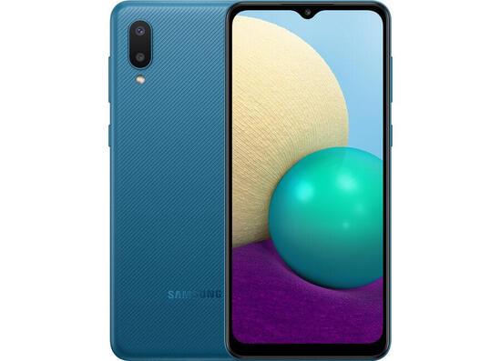 Samsung A022G Galaxy A02 (2GB/32GB) Dual Sim LTE - Blue