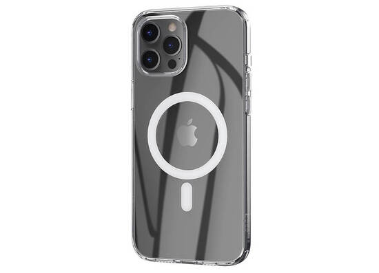 HOCO Transparent TPU magnetic protective case for iPhone 12 Pro Max