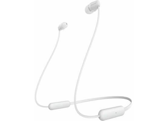 Sony WI-C200 Wireless Neck-Band Headphones - White