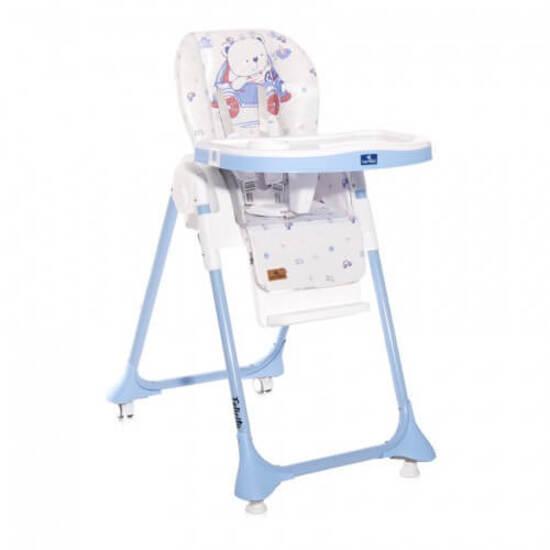 ბავშვის საჭმელი სკამი LORELLI FELICITA Blue Bear
