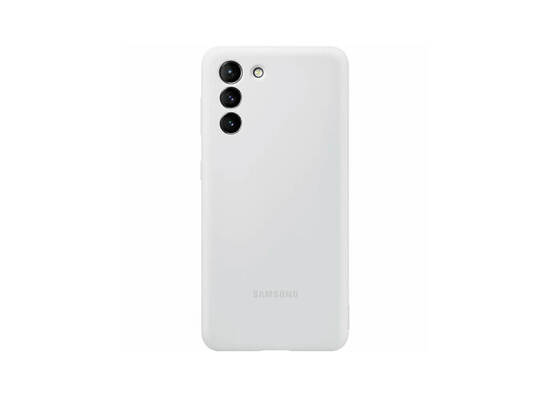 Samsung Galaxy S21 Silicone Cover Light Gray (EF-PG991TJEGRU)