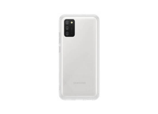 Samsung Galaxy A02s Soft Clear Cover Transparent (EF-QA025TTEGRU)