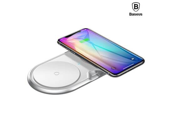 BASEUS DUAL WIRELESS QUICK CHARGER 3.0