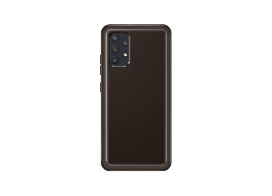 Samsung Galaxy A32 Soft Clear Cover Black (EF-QA325TBEGRU)
