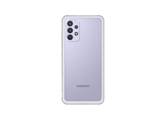 Samsung Galaxy A32 Soft Clear Cover Transparent (EF-QA325TTEGRU)