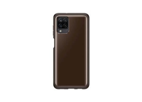 Samsung Galaxy A12 Soft Clear Cover Black (EF-QA125TBEGRU)