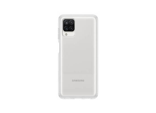 Samsung Galaxy A12 Soft Clear Cover Transparent (EF-QA125TTEGRU)