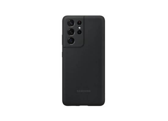Samsung Galaxy S21 Ultra Silicone Cover Black (EF-PG998TBEGRU)