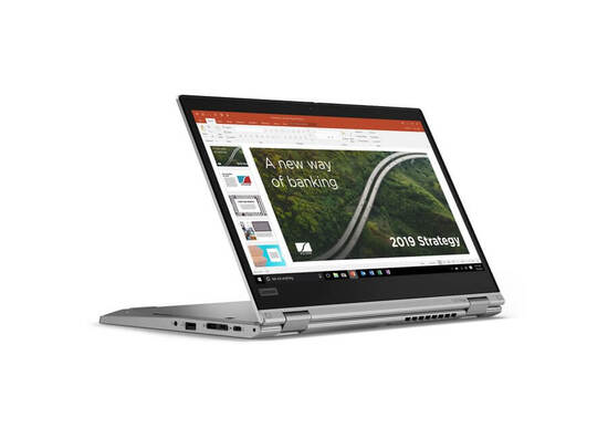 """LenovoThinkPad L13 Yoga Gen 2 13.3"""" FHD  With Touch Screen  i5, 8GB/256GB  SSD (20VK0014RT) - Silver"""