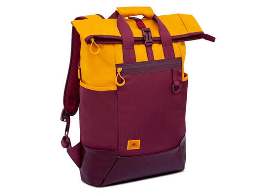 RIVACASE 5321 15.6'' Laptop Backpack - Burgundy Red