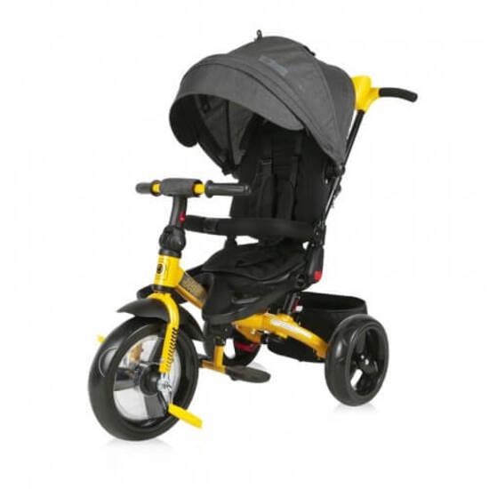 Lorelli  საბავშვო ველოსიპედი Jaguar  Black&Yellow  გასაბერი საბურავით