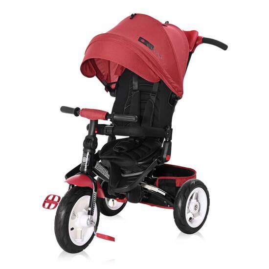 Lorelli  საბავშვო ველოსიპედი Jaguar  Red&Black LUXE  გასაბერი საბურავით