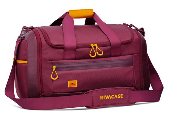 RIVACASE 5331 35L Duffle Bag - Burgundy Red