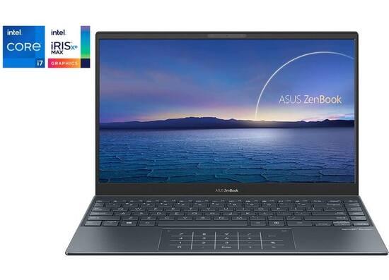 Asus ZenBook 13.3'' FHD OLED   i7(11th Gen.), 16GB/512GB SSD (UX325EA-KG304) - Pine Grey