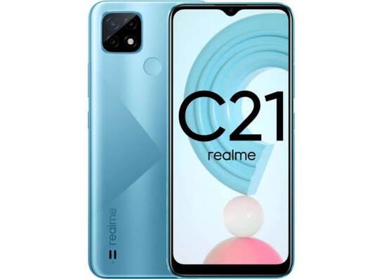 Realme C21 (3GB/32GB) Dual Sim LTE - Blue