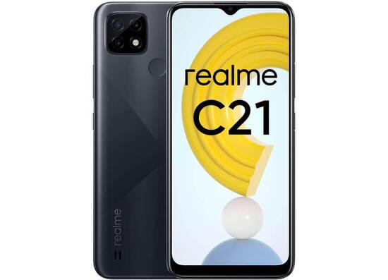 Realme C21 (4GB/64GB) Dual Sim LTE - Black