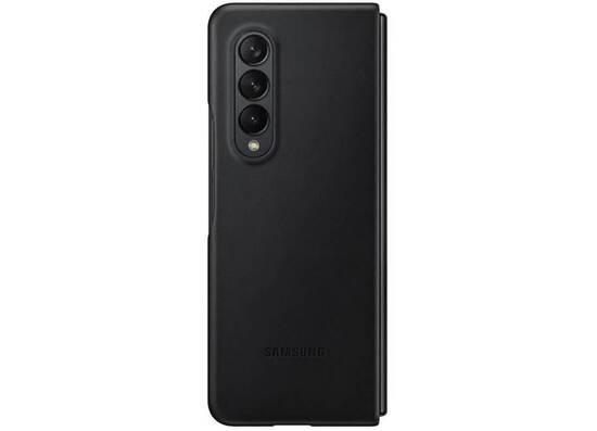 Samsung Galaxy Z Fold3 Leather Cover Black (EF-VF926LBEGRU)