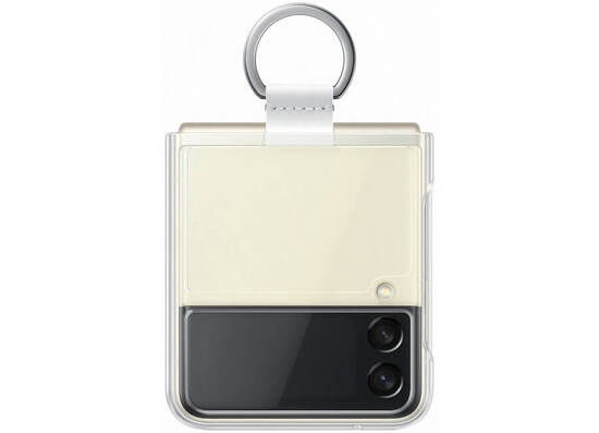Samsung Galaxy Z Flip3 Clear Cover with Ring Transparency (EF-QF711CTEGRU)
